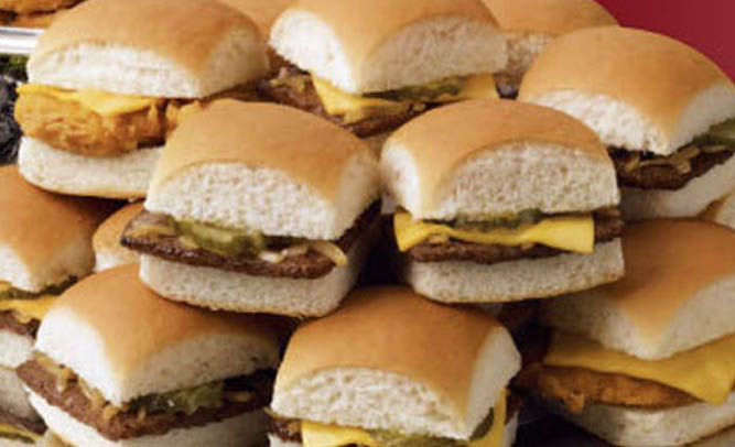 These are real. The recipe is for a copy-cat, almost-tastes-like-it White Castle Burger